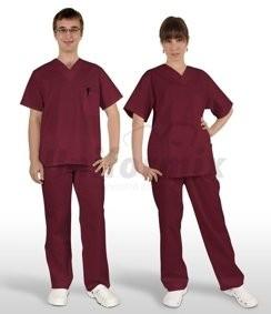 odziez-medyczna-bordo